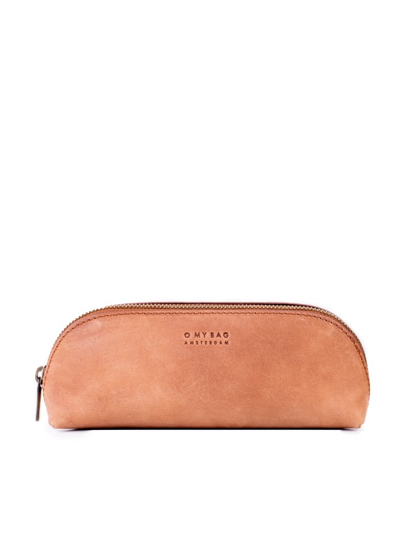 PENCIL CASE – CAMEL HUNTER LEATHER