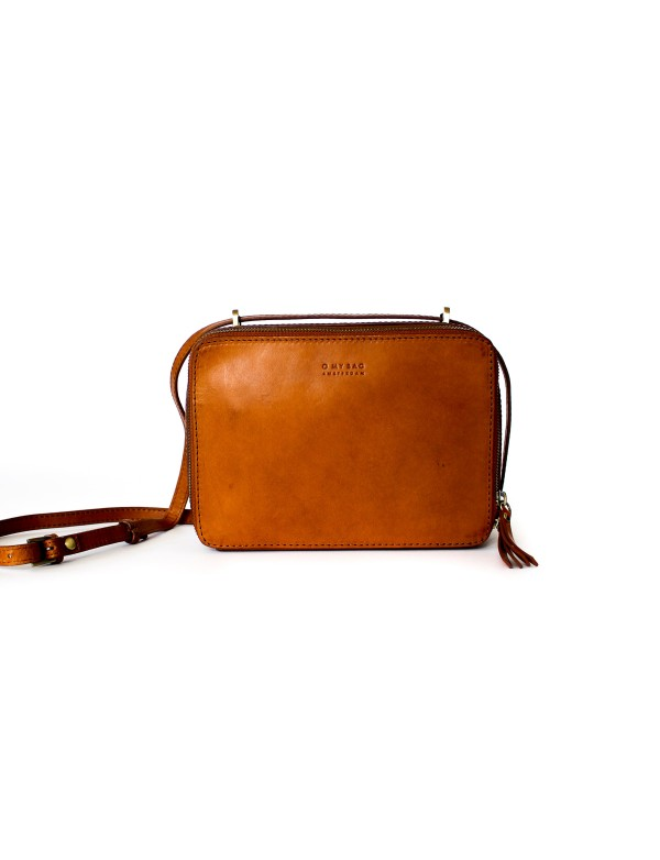 KABELKA BEE'S BOX - COGNAC CLASSIC LEATHER