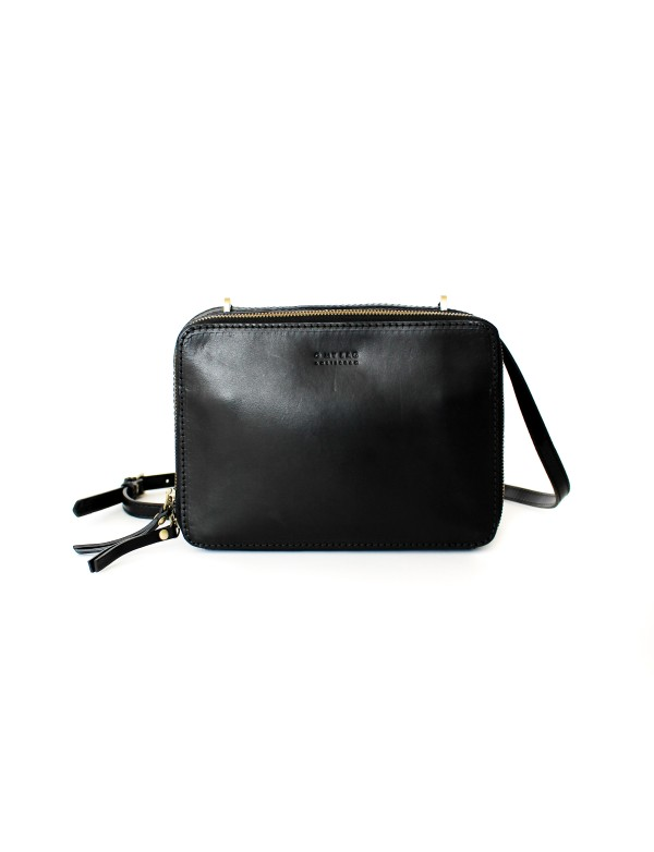 KABELKA BEE'S BOX - BLACK CLASSIC LEATHER