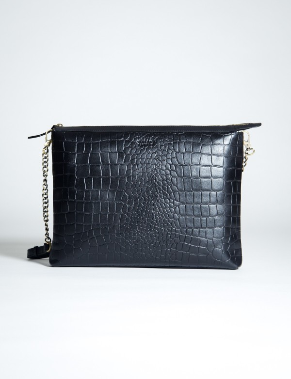 THE SCARLET – ECO CLASSIC BLACK CROCO