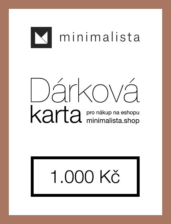 Dárková karta 1.000 Kč