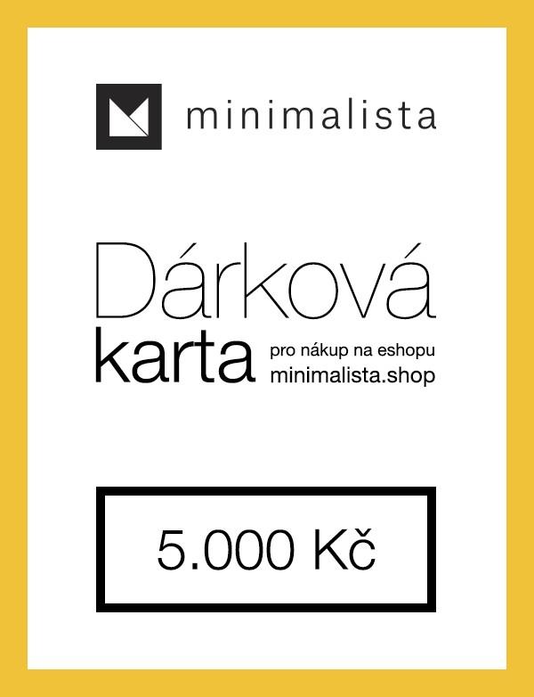 Dárková karta 5.000 Kč