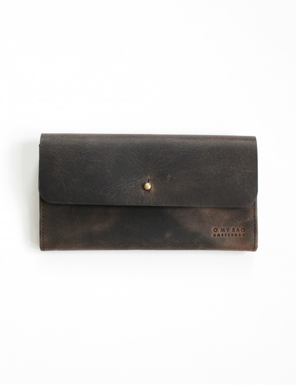 PIXIE'S POUCH - ECO DARK BROWN